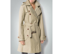 Damen Mantel Trenchcoat aus Funktionsmaterial