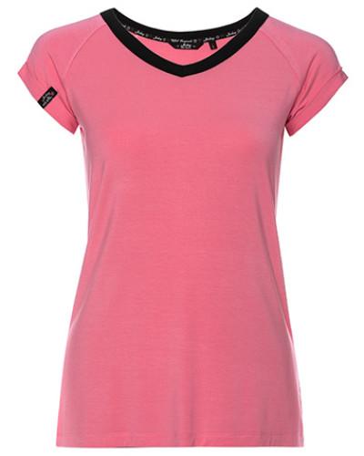 T-Shirt in klarer Optik