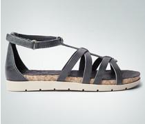 Damen Schuhe Sandalen mit Klettriegel