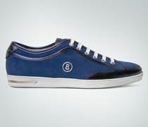 Damen Schuhe Sneaker im Leder-Mix