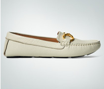 Damen Schuhe Mokassin mit Ringschnalle