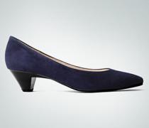 Damen Schuhe Pumps in Veloursleder