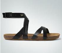 Damen Schuhe Sandale mit gekreuztem Riemen