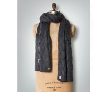 Damen Schal mit Zopfmuster