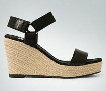 Damen Schuhe Wedges im Material-Mix