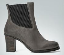 Damen Schuhe Stiefelette aus Veloursleder
