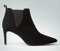 Damen Schuhe Stiefelette mit Elastikeinsätzen