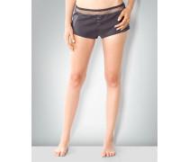 Damen Nachtwäsche Schlaf-Shorts in Satin-Optik
