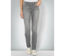 Jeans mit Kristallsteinen