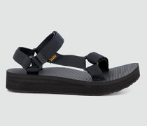 Schuhe Sandalen mit leichtem Plateau