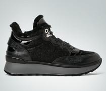 Damen Schuhe Sneaker aus metallischem Material-Mix