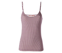 Damen Wäsche Top mit schmalen Trägern