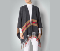 Damen Pullover Poncho Cape aus Lambswool