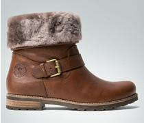 Damen Schuhe Stiefeletten mit Lammfell-Futter