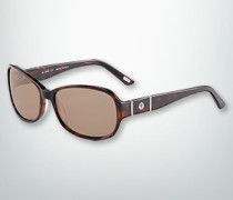 Damen Brille Sonnenbrille in cleanem Look