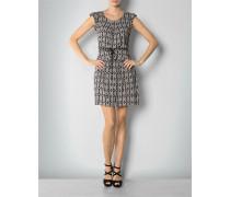 Kleid mit Gürtelelement auf Taillenhöhe
