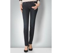Damen Jeans 'Marion' mit dezentem Goldstich