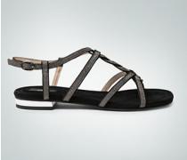 Schuhe Sandalen in Silber-Metallic