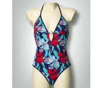 Damen Badeanzug im floralen Dessin