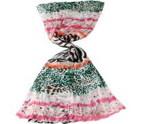 Damen Schal Seide pink