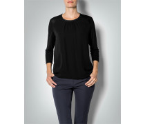 Damen Blusen-Shirt im Seiden-Mix