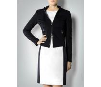 Damen Jersey-Jacke im femininen Biker-Stil
