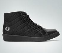 Damen Schuhe Sneaker im Leder-Textil-Mix
