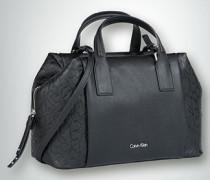 Damen Duffle-Bag mit geprägten Seiteneinsätzen