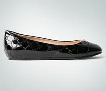 Damen Schuhe Ballerinas in Lackleder-Optik