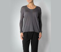 Pullover mit asymmetrischer Saumlänge