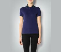 Damen Polo-Shirt mit Kontrastkragen