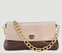 Damen Handtasche Kalbleder -rosé