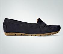 Damen Schuhe Loafers aus Veloursleder