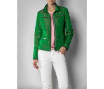 Damen Jacke mit dekorativen Reißverschlüssen