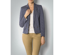 Damen Blazer aus Baumwolle mit Print
