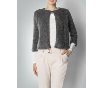 Damen Strickjacke im Mohair-Mix