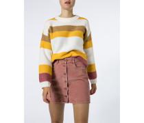 Pullover im Blockstreifen-Dessin
