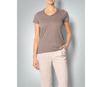 Damen T-Shirt mit raffiniertem Ausschnitt