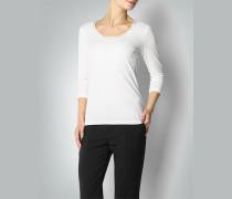 Damen Shirt mit Seidenbündchen