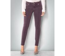Damen Jeans im Rauten-Dessin