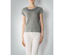 Damen T-Shirt mit Fransenborte