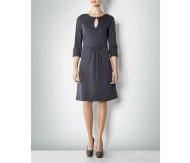 Damen Kleid mit Mini-Punkte-Muster