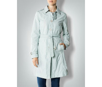 Damen Mantel Trenchcoat im leichten Baumwoll-Nylon-Mix