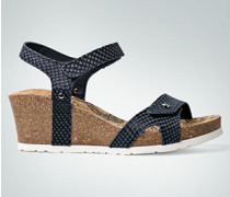 Damen Schuhe Keilsandale mit Klettverschluss