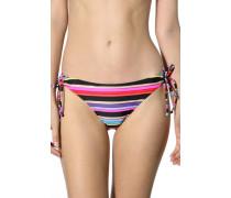 Damen Bademode Bikini-Slip gestreift