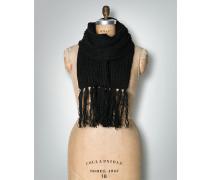 Damen Strickschal mit modernen XL-Fransen