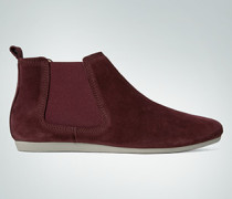 Damen Schuhe Chelsea-Boot aus Veloursleder