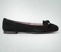 Damen Schuhe Ballerina mit Kunstfell-Futter
