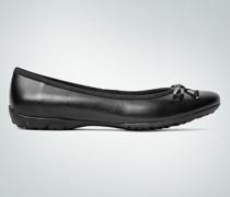 Damen Schuhe Ballerina mit Schleifchen