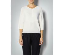 Damen Pullover mit großen Fischgrät-Muster